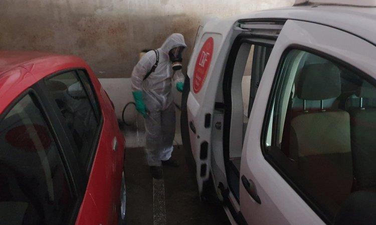 BHS : traitement cafard dans véhicule